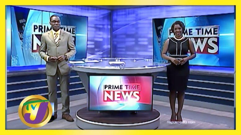 TVJ News:  Headlines - August 10 2020 1