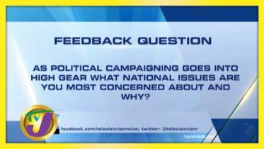 TVJ News: Feedback Question - August 11 2020 6