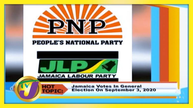Jamaica Goes to the Polls on Sept 3rd - August 12 2020 1