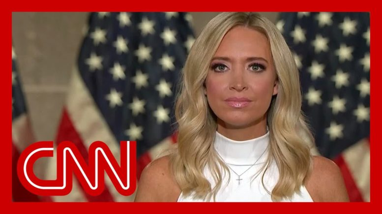 'I was blown away': Kayleigh McEnany shares private Trump call 1
