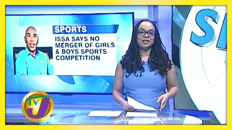 ISSA Say no Merger of Girls & Boys Sports Competition - August 13 2020 1