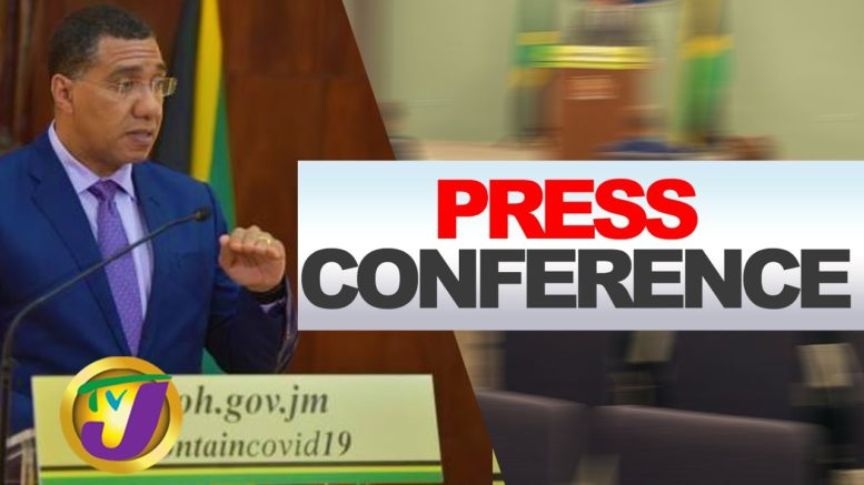 Jamaican Gov't Special Digital Press Conference - August 17 2020 1