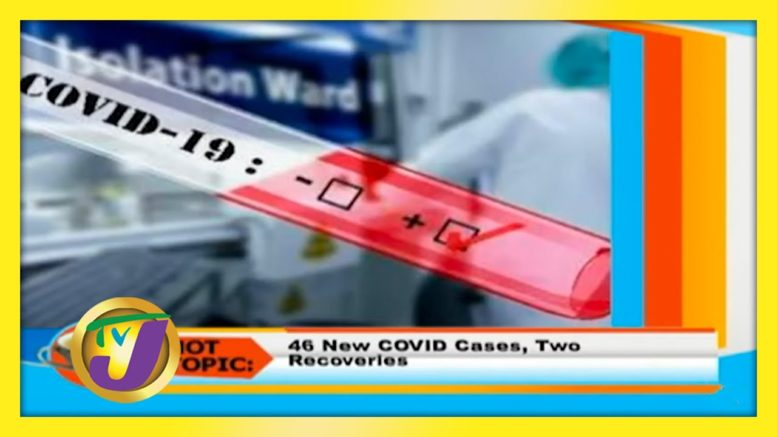 46 New Covid-19 Cases, Two Recoveries - August 20 2020 1