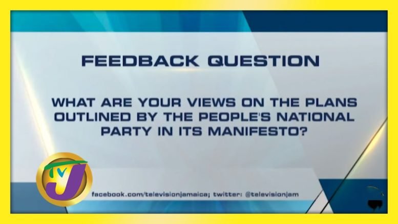 TVJ News: Question Feedback - August 20 2020 1