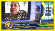 PNP Candidate for St. Andrew Eastern Venesha Phillips: Decision 2020 Jamaica Vote 5
