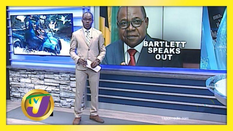 Bartlett Speaks Out: TVJ News - August 21 2020 1