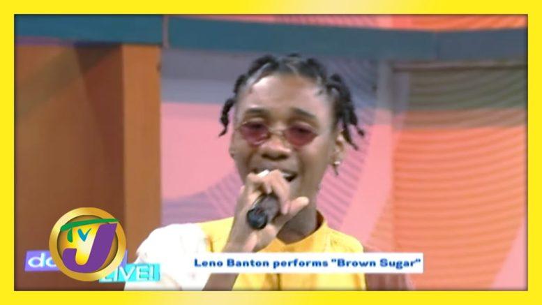 "Leno Banton Performs ""Brown Sugar"" TVJ Daytime Live - August 21 2020 1"