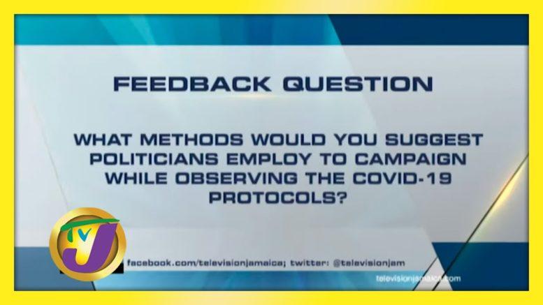 TVJ News: Feedback Question - August 24 2020 1