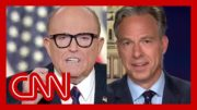See Tapper's reaction to Giuliani's conspiracy theory 5