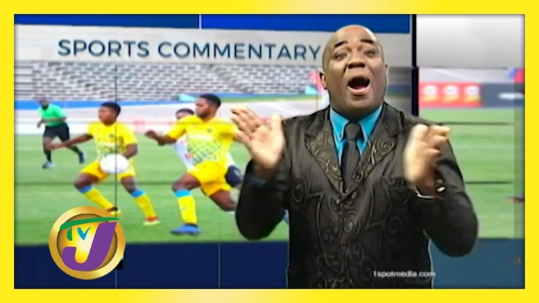 Round of Applause for ISSA: TVJ Sports Commentary - August 24 2020 1