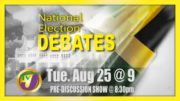 National Election Debate Tonight @9PM 4