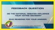 TVJ News: Feedback Question - August 25 2020 3