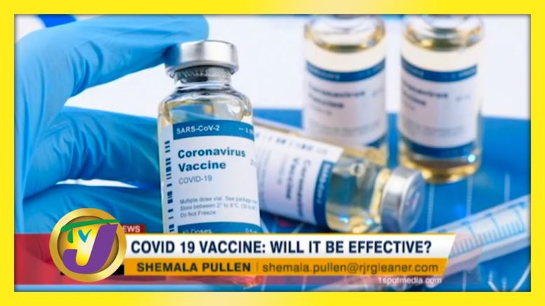 Covid-19 Vaccine: Will it be Effective? - August 26 2020 1