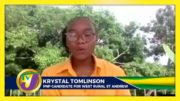 PNP Candidate for West Rural St. Andrew Krystal Tomlinson: Decision 2020 Jamaica Vote 2