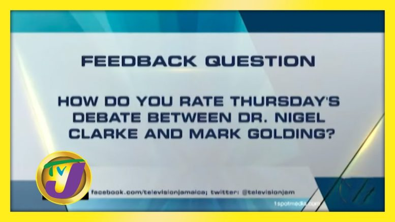 TVJ News: Feedback Question - August 28 2020 1