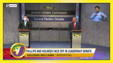 Phillips & Holness Face off in Leadership Debate - August 30 2020 6