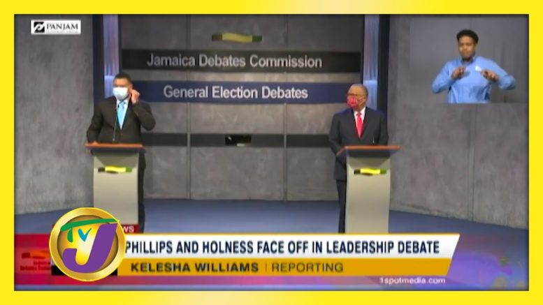 Phillips & Holness Face off in Leadership Debate - August 30 2020 1