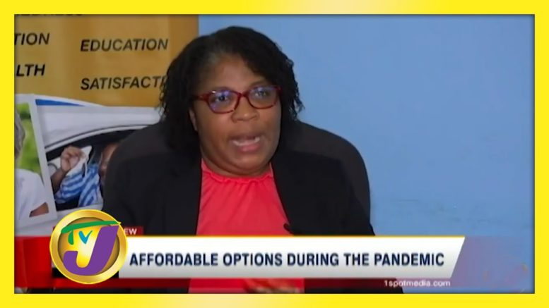 Affordable Options During the Pandemic - August 30 2020 1