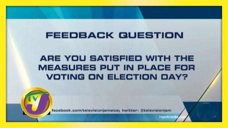 TVJ News: Feedback Question - August 31 2020 1