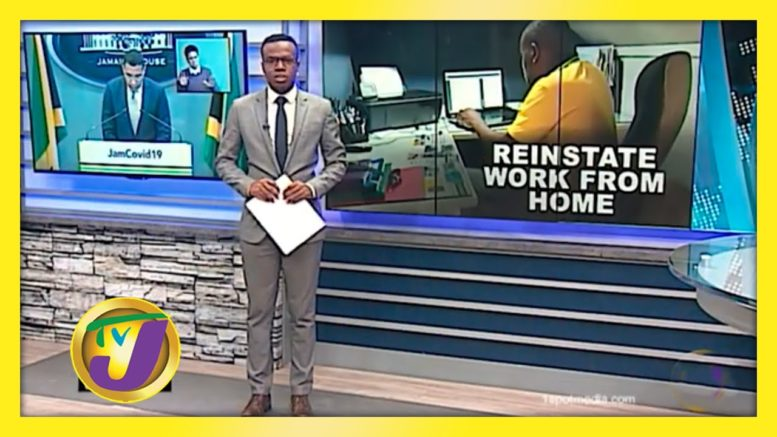 Gov't Urged to Re-instate Work from Home Order: TVJ Business Day - August 31 2020 1