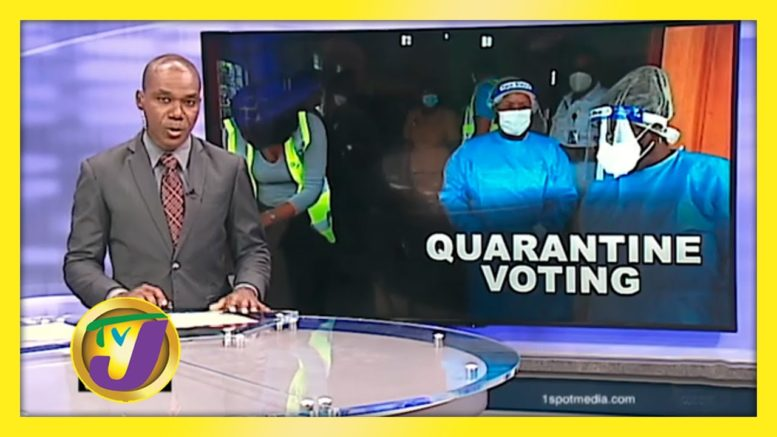 Voting Guidelines for People in Quarantine - August 31 2020 1