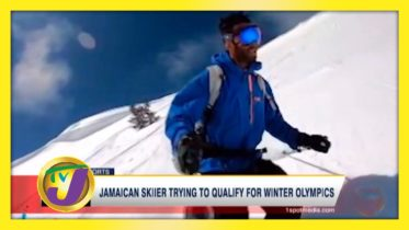 Jamaican Skier Trying to Qualify for Winter Olympics - August 31 2020 6