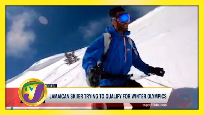 Jamaican Skier Trying to Qualify for Winter Olympics - August 31 2020 1