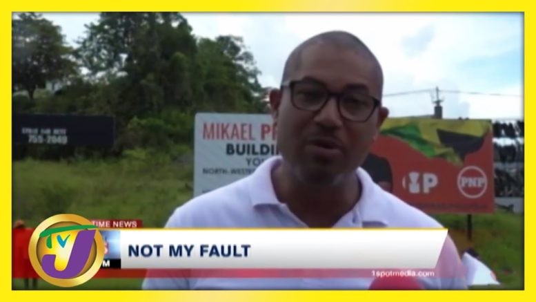 """""""Not My Fault"""" Says MP Mikael Phillips - September 1 2020 1"""