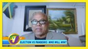 Dr Raulston Nembhard Discusses the Pandemic vs Elections - September 3 2020 5