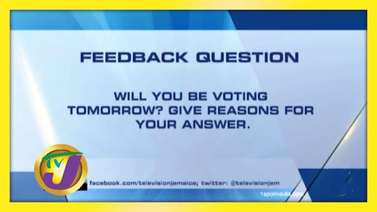 TVJ News: Feedback Question - September 2 2020 1
