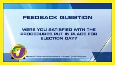 TVJ News: Feedback Question - September 3 2020 10