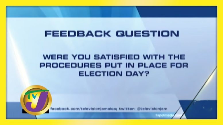TVJ News: Feedback Question - September 3 2020 1