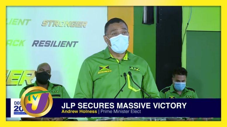 JLP's Andrew Holness Victory Speech 2020 1
