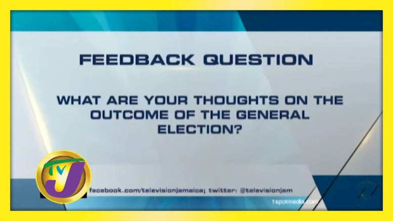 TVJ News: Feedback Question - September 4 2020 1