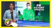 PM Victory Speech: TVJ News - September 4 2020 3