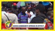Covid Community Spread in Effect: TVJ News - September 4 2020 3
