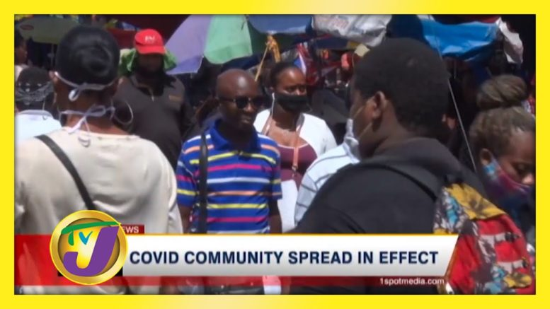 Covid Community Spread in Effect: TVJ News - September 4 2020 1