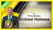 Prime Minister Andrew Holness Swearing-in Ceremony Live Coverage 2
