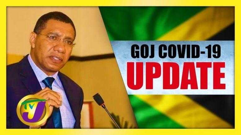 Jamaican Gov't Digital Press Conference Covid Update - September 7 2020 1
