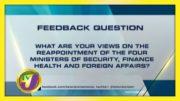 TVJ News: Feedback Question - September 7 2020 5