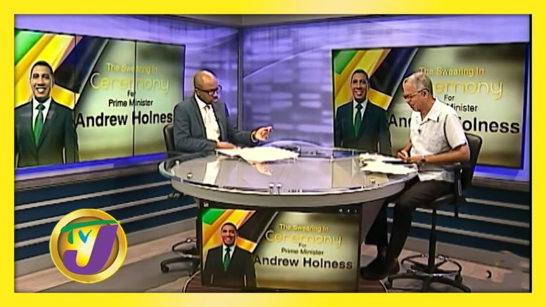 PM Andrew Holness Swearing Ceremony Post Discussion 1