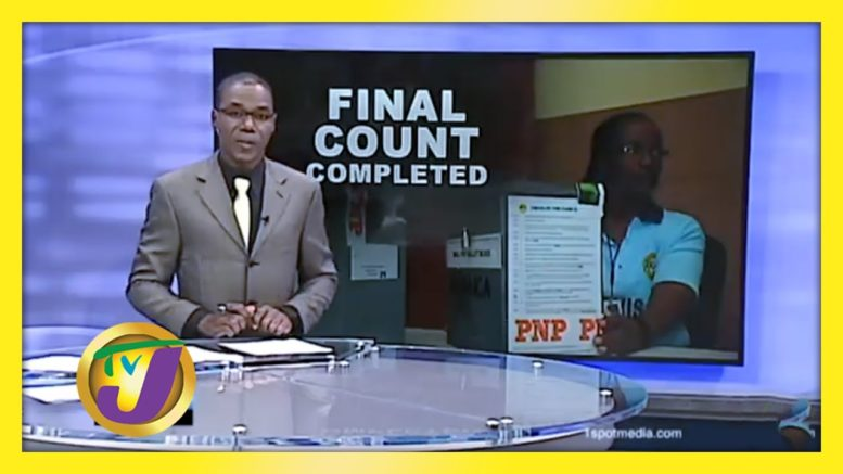 EOJ Final Count Completed - September 8 2020 1