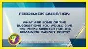 TVJ News: Feedback Question - September 9 2020 2