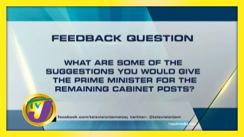TVJ News: Feedback Question - September 9 2020 1