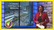 Economy Shrinks 18% April - June - September 9 2020 3