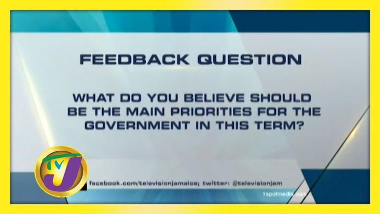 TVJ News: Feedback Question - September 10 2020 1