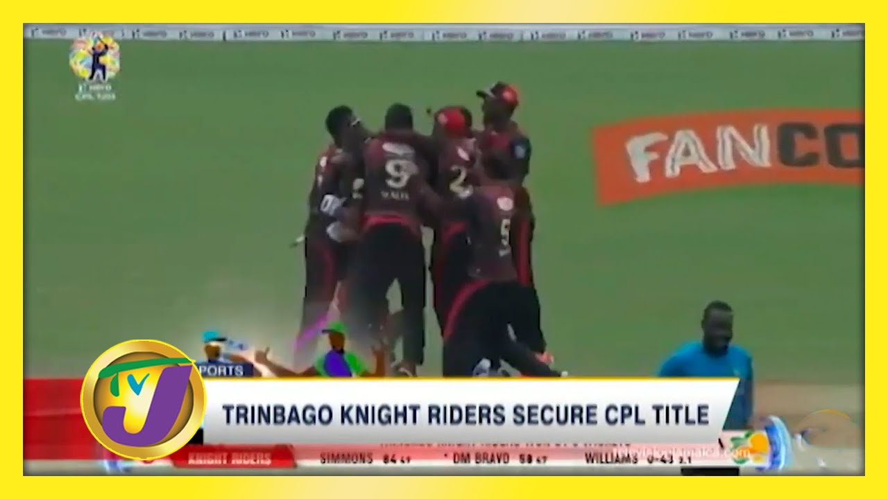 Trinbago Knight Riders Secure CPL Title - September 10 2020 6