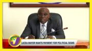 Lucea Mayor Wants Payment for Political Signs - September 13 2020 5