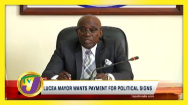 Lucea Mayor Wants Payment for Political Signs - September 13 2020 6