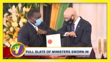 Full Slate of Ministers Sworn-in - September 13 2020 5